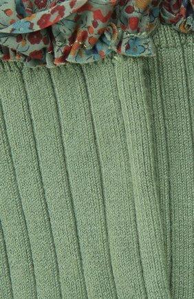 Детские носки COLLEGIEN зеленого цвета, арт. 3458/36-44 | Фото 2