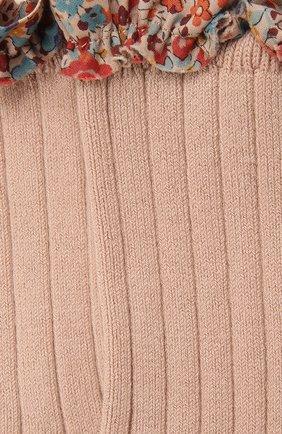 Детские носки COLLEGIEN розового цвета, арт. 3458/36-44 | Фото 2