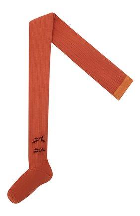 Детские колготки COLLEGIEN оранжевого цвета, арт. 5991 | Фото 1