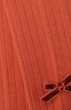 Детские колготки COLLEGIEN оранжевого цвета, арт. 5991 | Фото 2