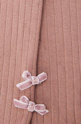 Детские колготки COLLEGIEN розового цвета, арт. 5991 | Фото 2