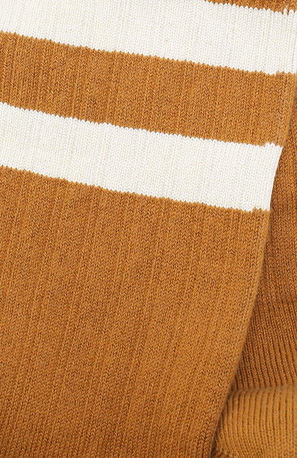 Детские носки COLLEGIEN желтого цвета, арт. 8470/36-44 | Фото 2