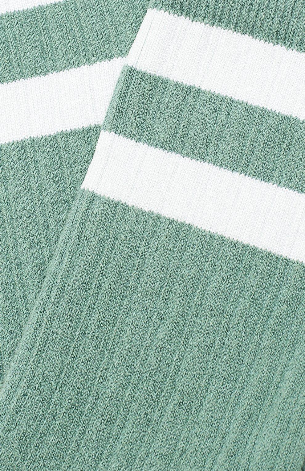 Детские носки COLLEGIEN зеленого цвета, арт. 8470/36-44   Фото 2