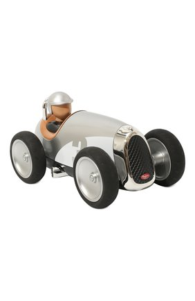 Детского игрушечная гоночная машина BAGHERA серебряного цвета, арт. 480 | Фото 1
