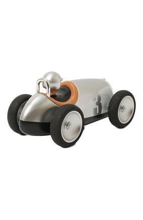 Детского игрушечная гоночная машина BAGHERA серебряного цвета, арт. 480 | Фото 2