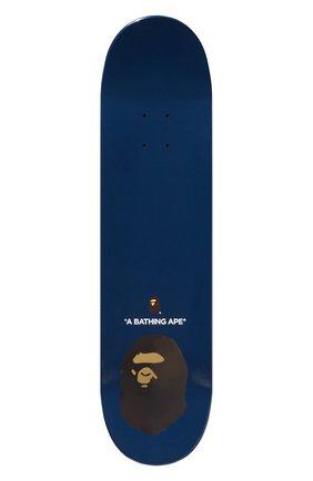Мужского доска для скейтборда BAPE синего цвета, арт. 1F80182012 | Фото 2