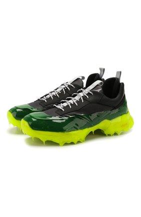 Мужские комбинированные кроссовки lhakpa ROA зеленого цвета, арт. MT4103 | Фото 1