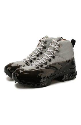 Мужские комбинированные ботинки andreas ROA серого цвета, арт. VAR515 | Фото 1
