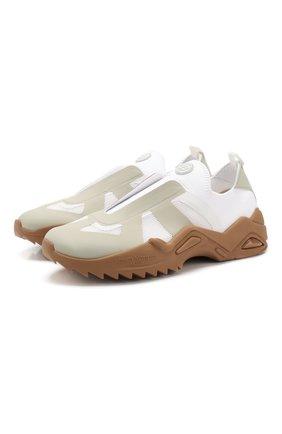 Мужские текстильные кроссовки replica MAISON MARGIELA белого цвета, арт. S37WS0501/P3266 | Фото 1