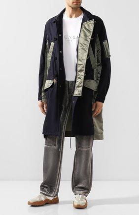 Мужские текстильные кроссовки replica MAISON MARGIELA белого цвета, арт. S37WS0501/P3266 | Фото 2