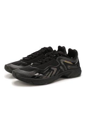 Мужские комбинированные кроссовки trail ACNE STUDIOS черного цвета, арт. BD0094   Фото 1
