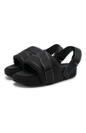 Мужские текстильные сандалии comfylette high Y-3 черного цвета, арт. EH1742/M | Фото 1