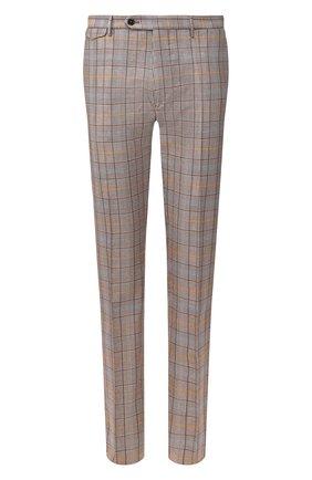 Мужской хлопковые брюки BERWICH коричневого цвета, арт. VULCAN0/SB1025 | Фото 1