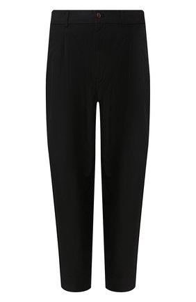 Мужской брюки COMME DES GARCONS HOMME PLUS черного цвета, арт. PE-P025-051 | Фото 1