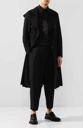 Мужской брюки COMME DES GARCONS HOMME PLUS черного цвета, арт. PE-P025-051 | Фото 2