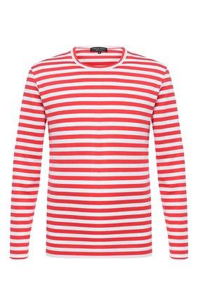 Мужская хлопковый лонгслив COMME DES GARCONS HOMME PLUS красного цвета, арт. PE-T025-051 | Фото 1