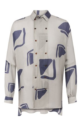 Мужская рубашка GIORGIO ARMANI серого цвета, арт. 0SGCCZ32/TZ591 | Фото 1