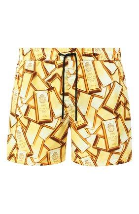 Детского плавки-шорты BILLIONAIRE золотого цвета, арт. I20C MMT0221 BTE009N | Фото 1