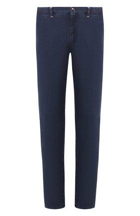 Мужские джинсы ZILLI темно-синего цвета, арт. MCT-00089-DESU1/R001 | Фото 1