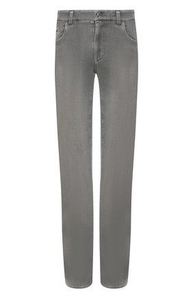 Мужские джинсы ZILLI светло-серого цвета, арт. MCT-00101-DSN01/R001 | Фото 1