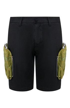 Мужские хлопковые шорты STONE ISLAND SHADOW PROJECT черного цвета, арт. 7219L0109 | Фото 1