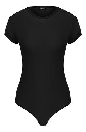 Женское боди из вискозы TOM FORD черного цвета, арт. B0K027-YAX252 | Фото 1