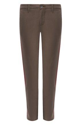 Женские брюки AG хаки цвета, арт. SBW1995GX/P0RD | Фото 1