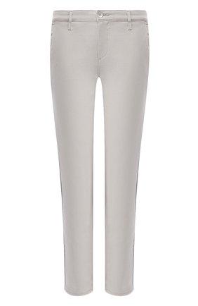 Женские брюки AG серого цвета, арт. SBW1995GX/FL0G | Фото 1