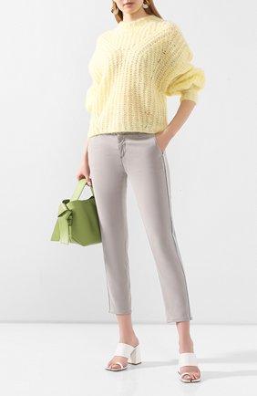 Женские брюки AG серого цвета, арт. SBW1995GX/FL0G | Фото 2