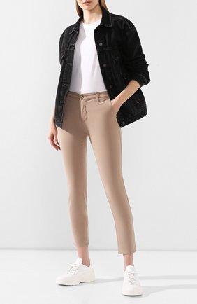 Женские джинсы AG бежевого цвета, арт. SBW1613/PART | Фото 2