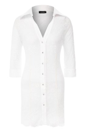 Женское туника DANA PISARRA белого цвета, арт. LUX/LA2056 | Фото 1
