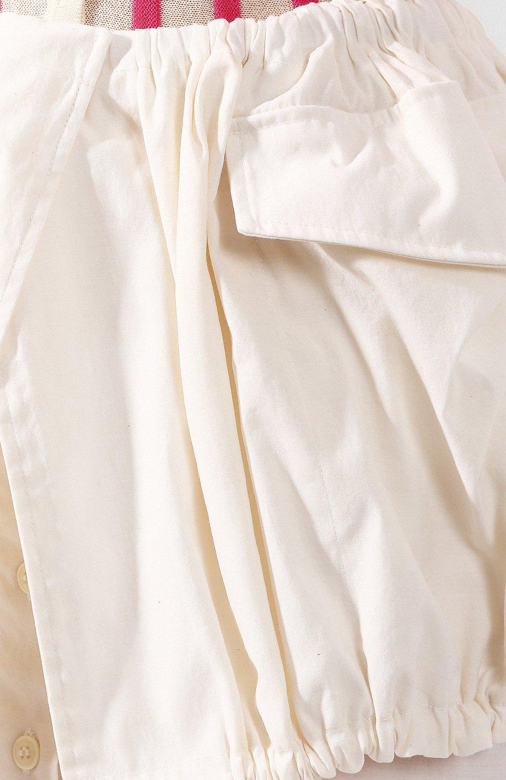 Женская юбка JACQUEMUS белого цвета, арт. 201SK07/23110 | Фото 5