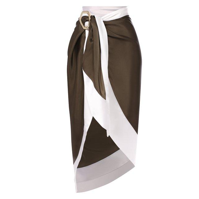 Шелковая юбка Balmain