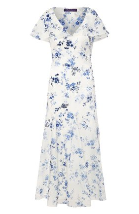 Женское платье RALPH LAUREN белого цвета, арт. 290798040 | Фото 1