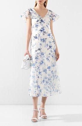Женское платье RALPH LAUREN белого цвета, арт. 290798040 | Фото 2