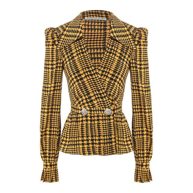 Шелковая блузка Alessandra Rich