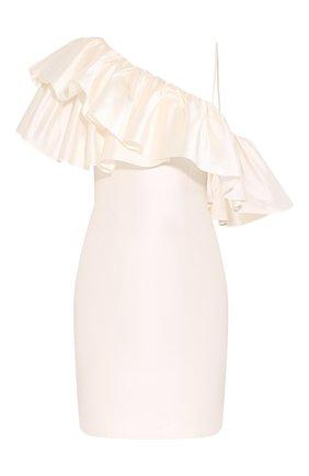 Женское шелковое платье RASARIO белого цвета, арт. 0098S20_2 | Фото 1