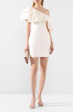 Женское шелковое платье RASARIO белого цвета, арт. 0098S20_2 | Фото 2