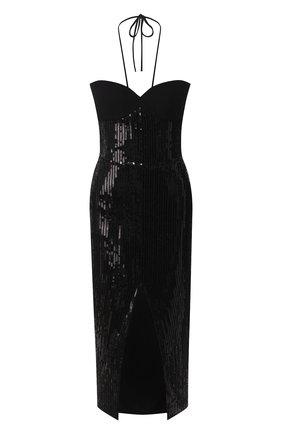 Женское платье с пайетками RASARIO черного цвета, арт. 0069S20_1 | Фото 1