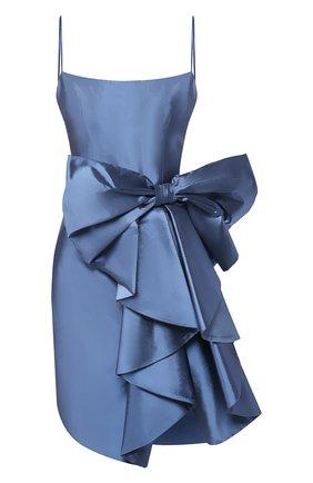 Женское шелковое платье RASARIO голубого цвета, арт. 0107S20_4 | Фото 1