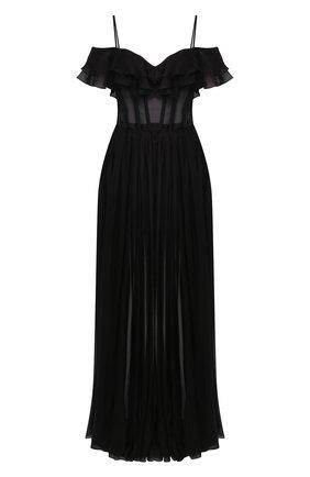 Женское платье-макси RASARIO черного цвета, арт. 0073S20_1 | Фото 1