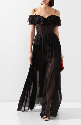 Женское платье-макси RASARIO черного цвета, арт. 0073S20_1 | Фото 2