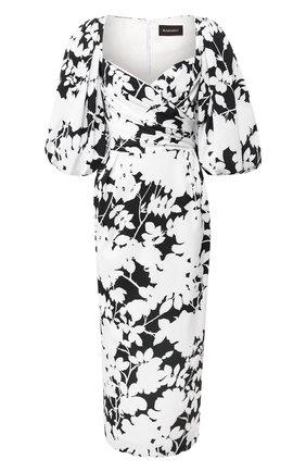 Женское платье-миди RASARIO черно-белого цвета, арт. 0109S20_21 | Фото 1