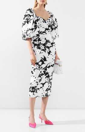 Женское платье-миди RASARIO черно-белого цвета, арт. 0109S20_21 | Фото 2