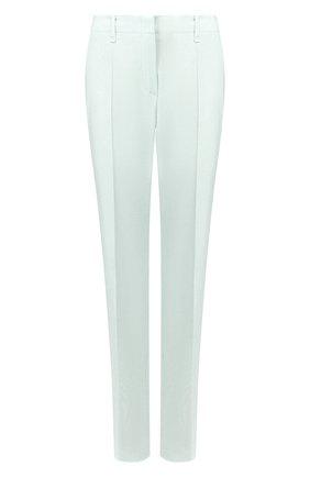 Женские шерстяные брюки WINDSOR бирюзового цвета, арт. 52 DHE127T 10009012 | Фото 1