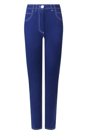 Женские джинсы BALMAIN синего цвета, арт. TF05460/D022 | Фото 1