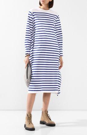 Женское хлопковое платье HYKE черно-белого цвета, арт. 12268 | Фото 2