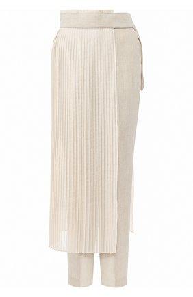Женские брюки HYKE бежевого цвета, арт. 13187 | Фото 1