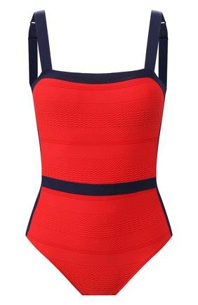 Женский слитный купальник ANDRES SARDA красного цвета, арт. 3408531 | Фото 1