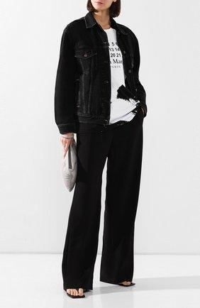 Женская джинсовая куртка ACNE STUDIOS черного цвета, арт. A90240/W | Фото 2